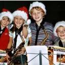 Die Bläserklasse zum Weihnachtskonzert, Saxofone